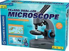 TKx400i Duel-Led Microscope Biology 40X, 100X, 400X Thames & Kosmos Science Kit