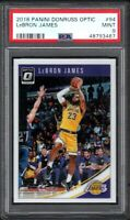 2018 Panini Donruss Optic #94 LeBRON JAMES Los Angeles Lakers PSA 9 MINT