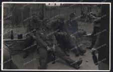 12. chars-Division-tank troupe-Chars-régiment 29-bière pause-opérateur radio-pologne - 49