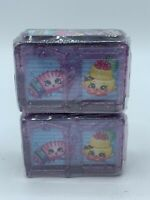 Lot 2 Shopkins in a Twin Room Blind Bag Box Season 8 Boarding to Europe - NEW!!!