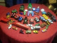 Vintage-modern Junk Drawer Lot- Random Automotive Type Toys N Such! HUGE !