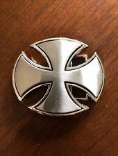 Celtic Maltese Irish Iron Crusader Cross Religion Metal Unisex Men's Belt Buckle