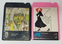 Set of 2 8 Track Tapes The Four Sides of Melanie Bette Midler