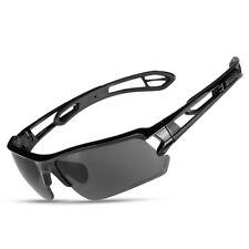 Topeak Sports Magic HD Polarized Lenses Cycling Glasses Goggles Sunglasses Black