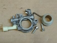 STIHL MS390 chainsaw oil pump and worm gear  OEM