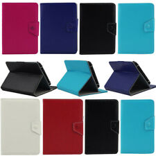 "Folding Folio Luxury PU Leather  Tablet Case Cover For Various 7"" inch Android"