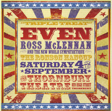 """EVEN /Ross McLennan/The Ronson Hangup """"Triple Treat"""" 2010 6Trk CD *Only500Copies"""