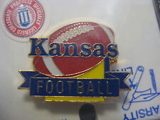 LOT of 12 PINS  - University of Kansas Pin - Football