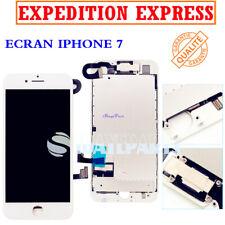 POUR IPHONE 7 LCD VITRE TACTILE ECRAN RITENA COMPLET ASSEMBLÉ SUR CHASSIS BLANC