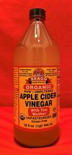 Bragg Organic Raw Unfiltered Apple Cider Vinegar with the Mother Large 32 fl.oz.