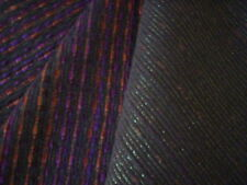 Woven Brown, purple and orange shimmer fabric/Fall fabric/Autumn fabric/sewing