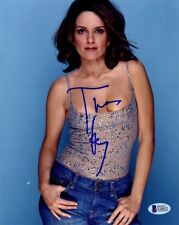 TINA FEY In-person Signed Photo - 30 Rock - Beckett Authenticated