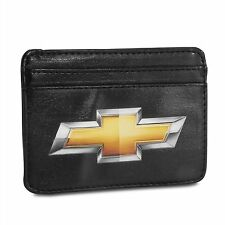 Chevrolet Synthetic Leather Credit Cards Weekend Wallet
