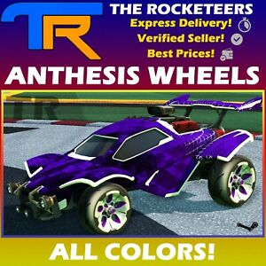 [PC] Rocket League Every Painted ANTHESIS Very Rare Wheels Auriga Series New