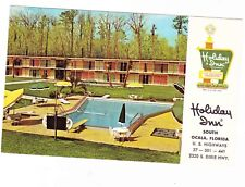 HOLIDAY INN--OCALA FLORIDA POSTCARD