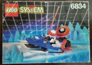 LEGO 6834 Ice Planet Celestial Sled Instructions Only