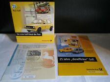 Brekina H0 25 Jahre dieselflinker Post-Golf  VW Golf  Fernmeldedienst TOP OVP