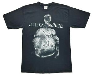 Vintage Jordan Tee Black Size XL Mens Distressed T-Shirt