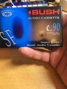 Bush Super Ferric C90 Blank Cassette Audio Tape