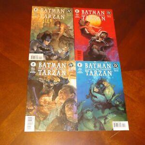 Batman Tarzan #1,2,3,4 (of 4) NM+ Dark Horse Comics