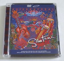 Dvd-Audio: Santana Supernatural (2003, Surround/Stereo) Nm Free Us 1st Class s&h
