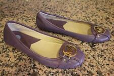 MICHAEL Michael Kors FULTON  Purple Leather Loafer Flats Size 7.5M (SH1000