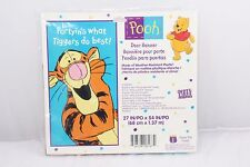 "Party Express Door Banner 27""x54"" Partyin's what Tiggers do Best"