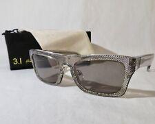 3.1 Phillip Lim Sunglasses IHA Smoke Dot,  55-22-140 NEW  w/case