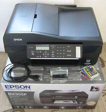 EPSON Stylus Office BX305F AIO Inkjet Drucker Scanner Fax, TOP + OVP !!!