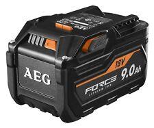 AEG 18v Force 9.0ah 9ah 9 Ah Lithium Battery Cordless Pro Aus Stock
