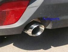 CHROME EXHAUST MUFFLER TAIL TIP PIPE For Mazda 6  2014 2015 2016 2017