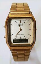 Casio Mens Digital & Analog Watch AQ-230 - Gold