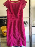 Fenn Wright Manson Cerise Pink Special Occasion Dress Size 10 Used Once
