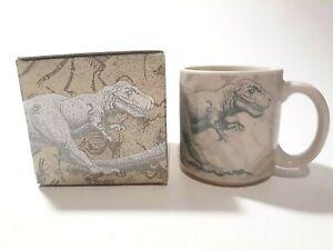 Tyrannosaurs Rex Dinosaur Coffee Cup Mug Tea Cup by Charpente 8 oz