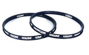 "Colony Pintour 18"" BMX Rim - Black BMX Bike Rim"