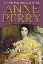 The Angel Court Affair: A Charlotte and Thomas Pitt Novel-ExLibrary