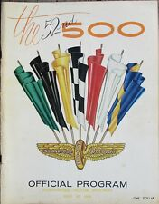 Vintage 1968 Indy 500 Race Program 52nd Race Bobby Unser First Win
