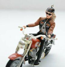 2001 Hallmark Harley Davidson Barbie Keepsake Ornament  Motorcycle New Xmas Gift