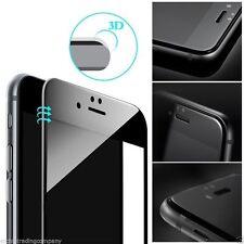 Nouveau 3D Noir Incurvé Edge à Bord Protection d'écran verre trempé pour I phone 6