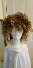 Curly Synthetic Ombre Colored Fashion Cosplay NWOT