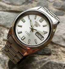 ✩ Vintage SEIKO 5 Automatic Japan 70s old wrist watch 21 Jewels 7S26-0360