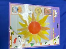 Stained glass Sun Pre Cut Mosiac Kit -New