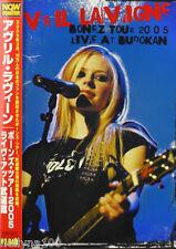 "AVRIL LAVIGNE ""BONEZ TOUR 2005 - LIVE AT BUDOKAN"" JAPAN DVD *SEALED*"
