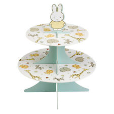 Baby Miffy Paper Cake Stand 2 Tier Baby Shower Christening Birthday Celebration