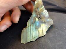 Polished Labradorite Spectrolite Rough Rock Gem Specimen Natural Gemstone y 214