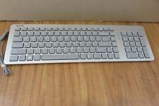 New listing Sony Vaio Vgp-Ukb3Us Usb Keyboard Silver ~ Clean Tested