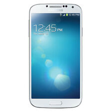"""Broken Samsung Galaxy S4 5"""" White Boost Mobile - Sold As Is"""