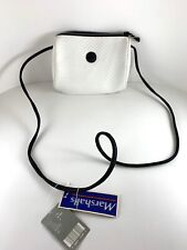 Retro 90's White Esprit Crossbody Purse Wallet Organizer Bag Handbag Zipper