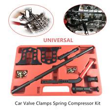 Car Valve Clamps Spring Compressor Kit Lock Sucker Rod Removal Repair Hand Tools