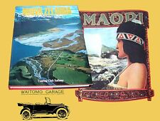 Nuova Zelanda Touring Club Italiano 1990 Rotorua Maori Auckland Kiwi Tongariro